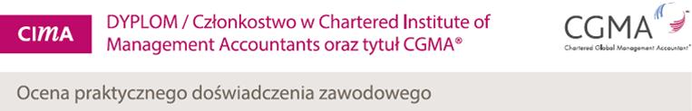 CIMA Poziomy certyfikatow